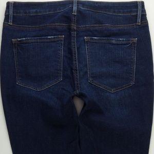 LOFT Curvy Skinny Ankle Jeans Women's 30/10  A226J